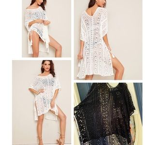 Other - 🎈FREE SHIPPING Crochet lace cover up